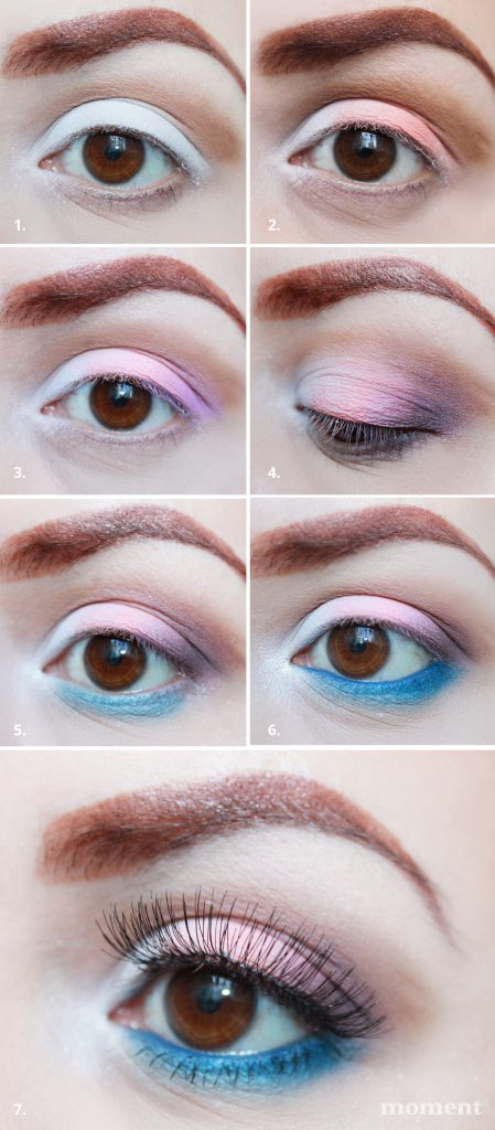 Wiosenny makijaż krok po kroku www.moment.pl