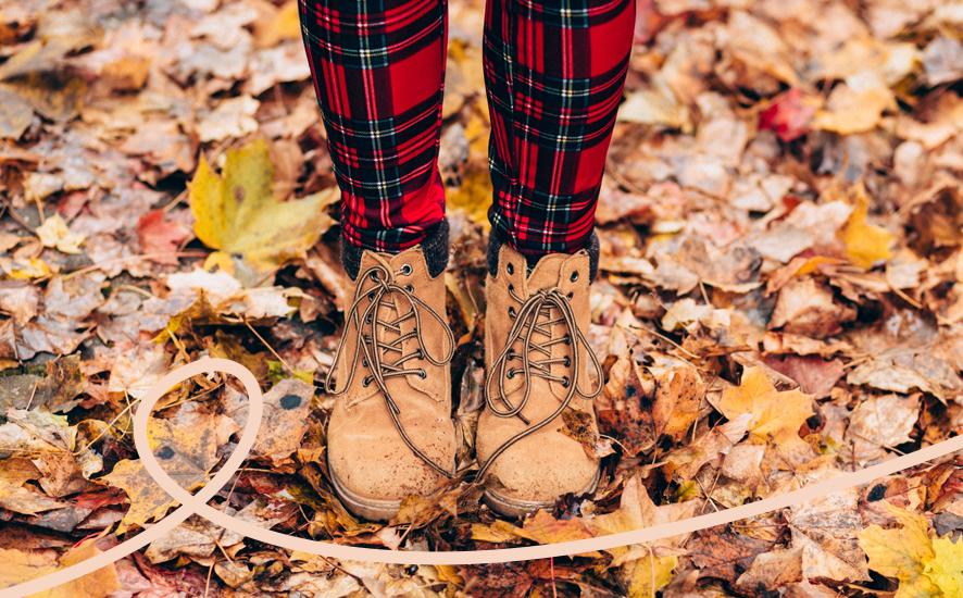 jak dbać o stopy jesienią