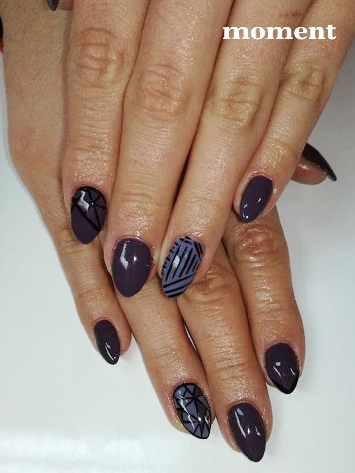 100 pomysłów na zimowy manicure