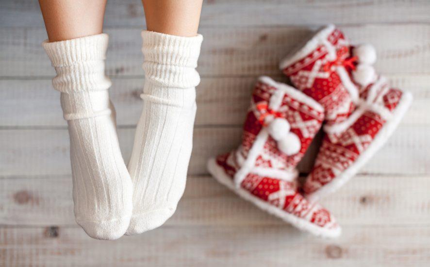 Jak dbać o stopy zimą