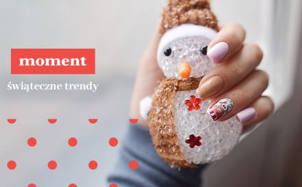 Trendy w manicure na Święta i Sylwester 2019