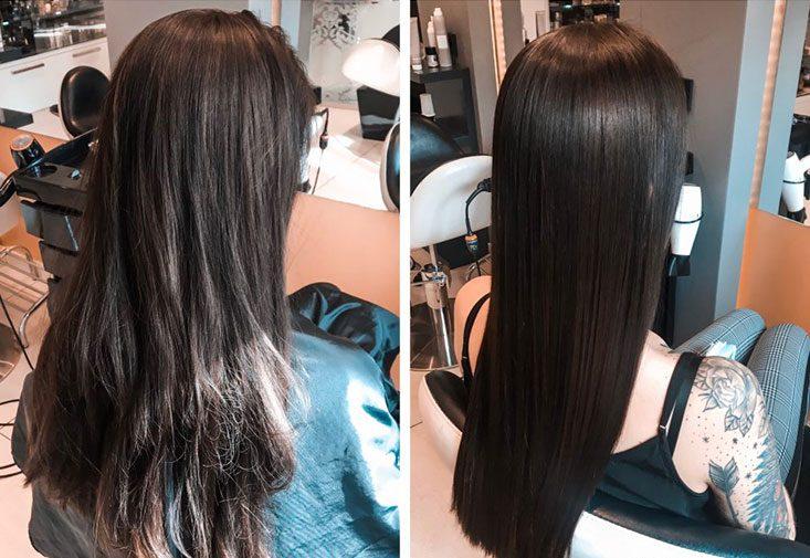 Widok włosów
