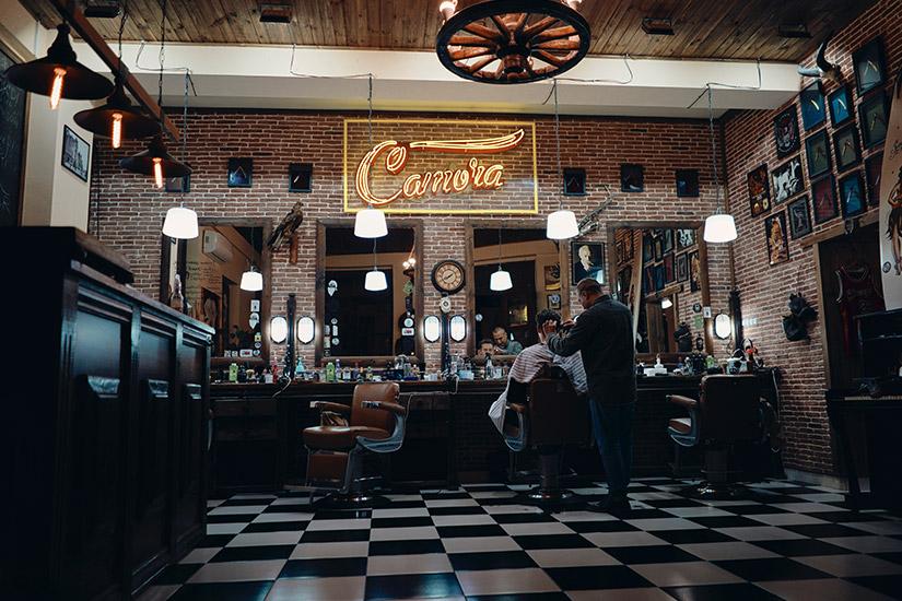 Męska rzecz, czyli barber shop o rozpoznawalnej nazwie