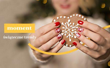 Manicure na Święta