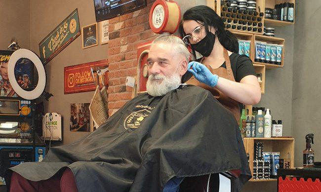 lucjan's barber shop cięcie