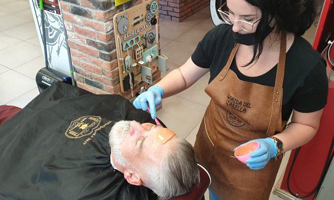 lucjan's barber shop zabieg