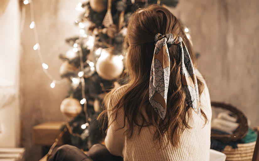 fryzury na zimę i sylwestra