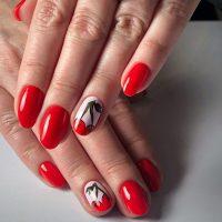 Manicure wiosenny-Instagram-@lilianna_nanails