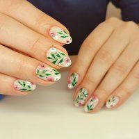 Manicure wiosenny-Instagram-@nailz.maker