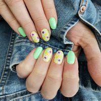 Manicure wiosenny-Instagram-@salonkosmetyczny_pasja_piekna