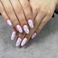 Wiosenny manicure-Instagram-@studiourodyagnieszkastefaniak