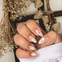 Wiosenny manicure-Instagram-@trzy.kroki.do.szczescia