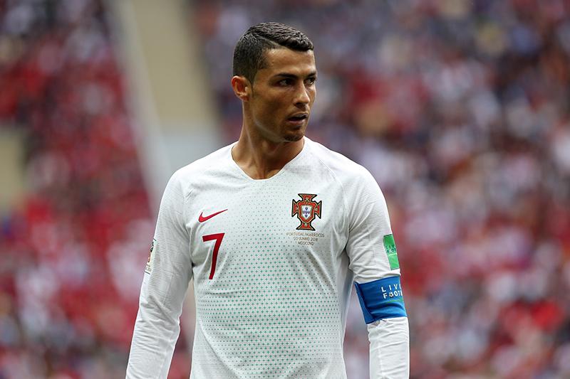 fryzury piłkarzy - Cristiano Ronaldo