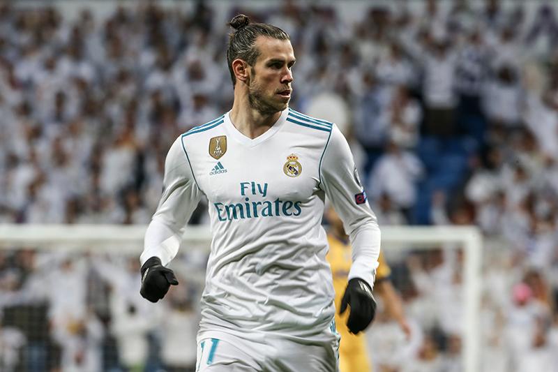 fryzury piłkarzy - Gareth Bale