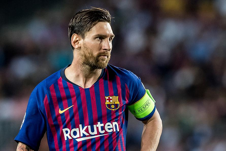 fryzury piłkarzy - Lionel Messi