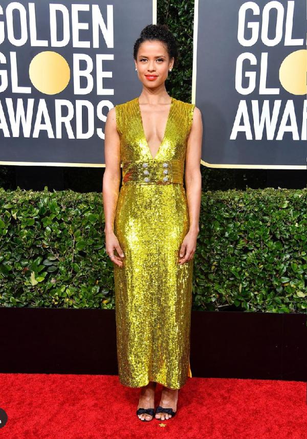 golden globes fashion trends - Gugu Mbatha-Raw