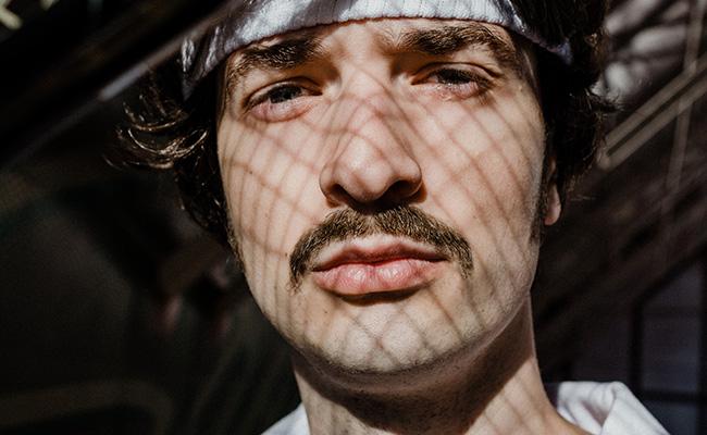 Example of chevron mustache