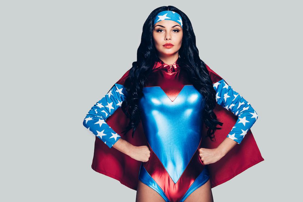 superhero hallowen costume example